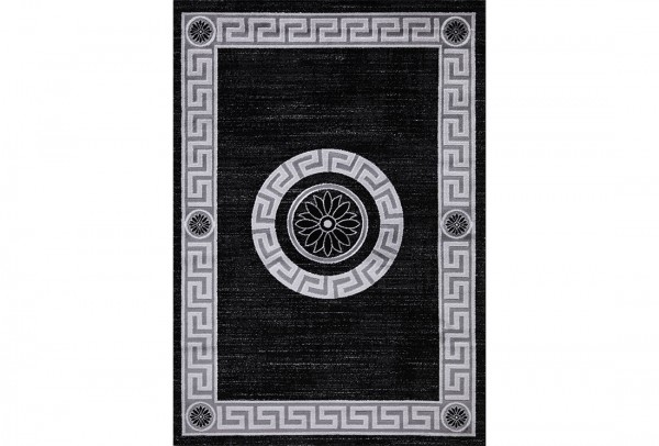 Flora Eleysa Collection Teppich | Polypropylen | Lurex Heatset | Grau Smoked