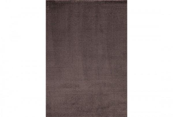 Flora Tiara Collection Shaggy Teppich Microfaser Shaggy | Weiß Grau Braun