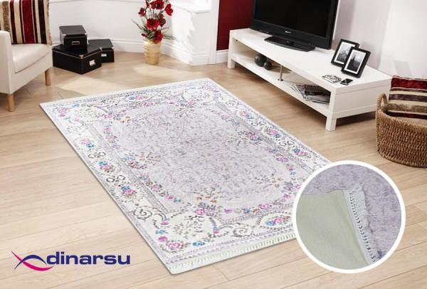 Dinarsu Summer Waschbarer Teppich | Beige
