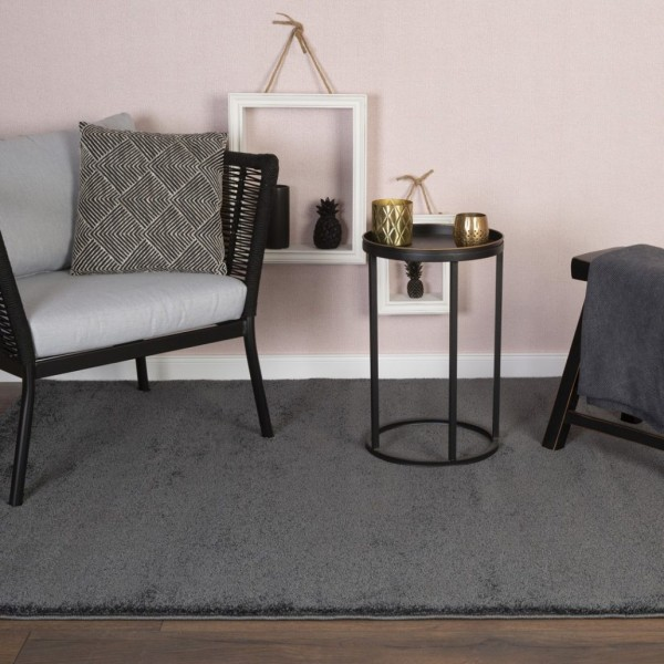 Obsession Nice Look Hochflor Teppich | Antracite Creme Jade Ocean Sand Silber