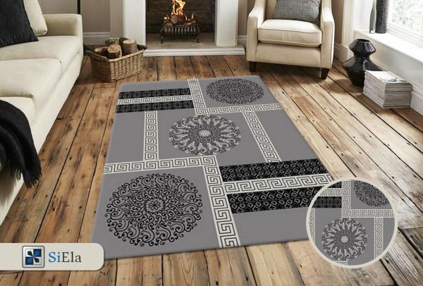 Siela Special Day Teppich | Polypropylen Heatset | Grau