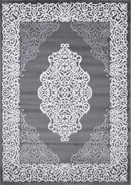 Flora Eleysa Collection Teppich   Polypropylen   Lurex Heatset   Grau