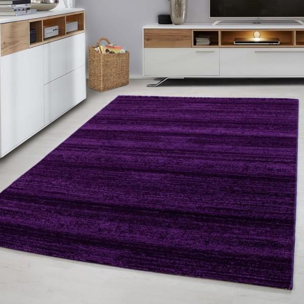Ayyildiz Teppiche | Plus | Teppich | Läufer | Lila | Patchwork-Design | A-8000