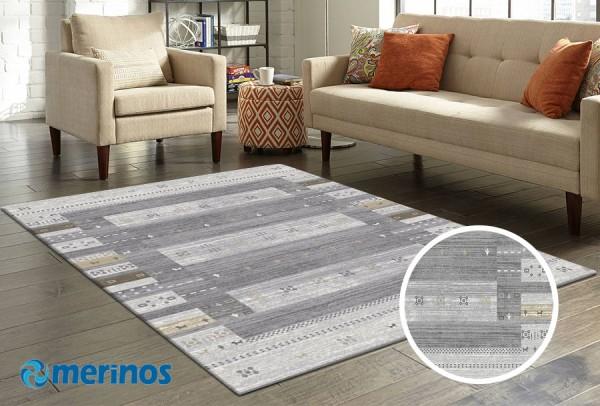 Merinos Over Form Teppich | Mehrfarben