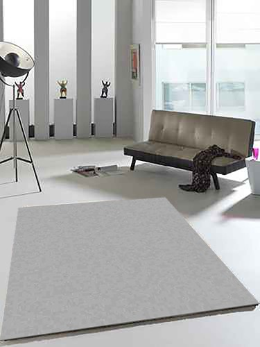 Merinos Filter Star Teppich | Silber Creme Beige