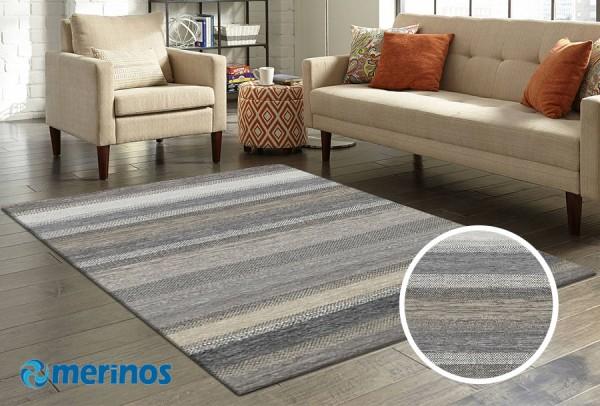 Merinos Over Form Teppich   Mehrfarben