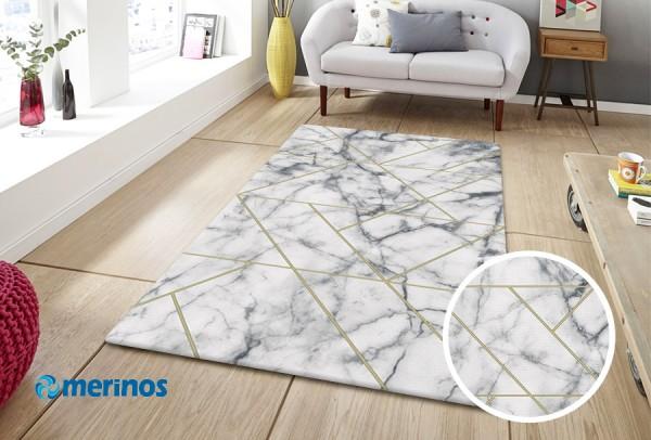 Merinos | Craft Modern Teppich | PP Heatset & Polyester