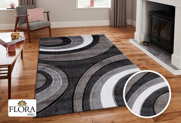 Flora | Cresida Collection Teppich | Shaggy | F-3448A