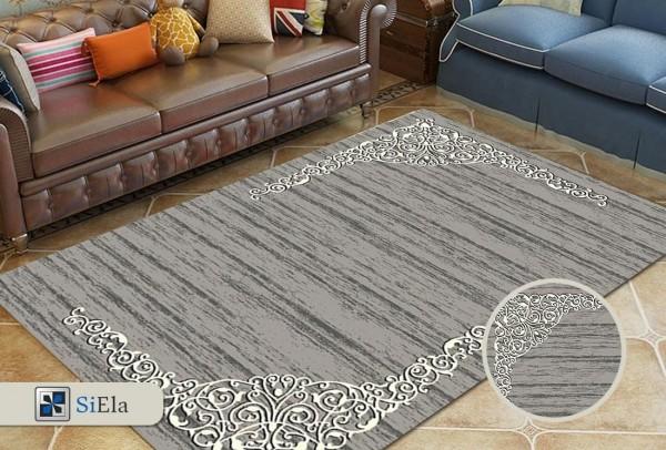 Siela Polo Room Teppich | Grau