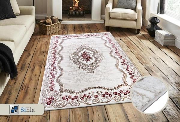 Siela Daisy Home Teppich | Pink Türkis