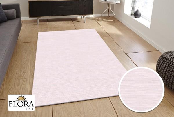 Flora Gökce Collection Teppich Polyacryl | Türkis Pink Creme