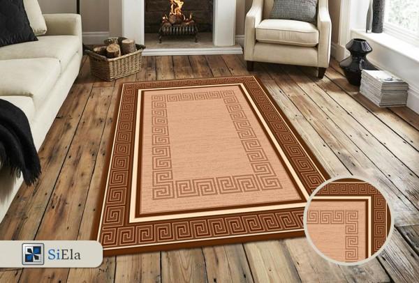Siela Special Day Teppich | Polypropylen Heatset | Braun