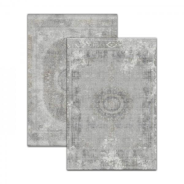Merinos | Karia Series | Moderner Teppich | Beige