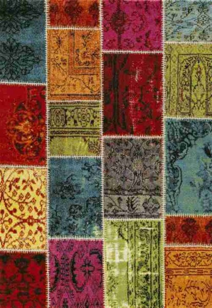Merinos East Life Teppich   Mehrfarben