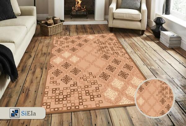 Siela Special Day Teppich | Polypropylen Heatset | Beige Grau