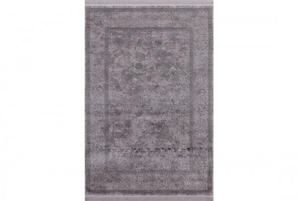 Flora Aysil Collection Teppich Polyacryl | Beige Blau Grau