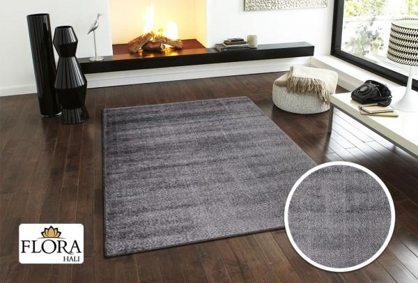 Flora Spacelight Collection Shaggy Teppich Polypropylen & Polyester | Grau