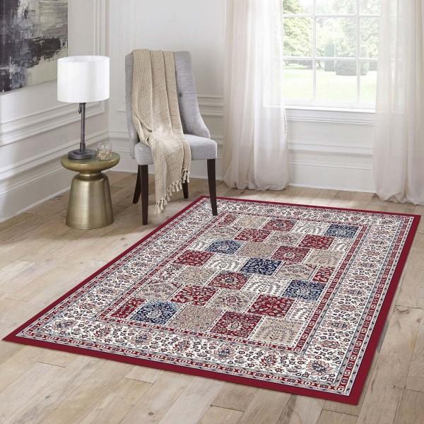 Festival Custom Style Teppich | Blau Rot