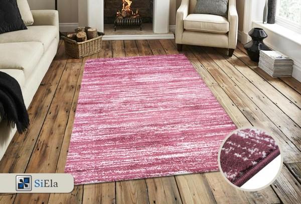 Siela Cast Light Teppich | Lila Blue Pink