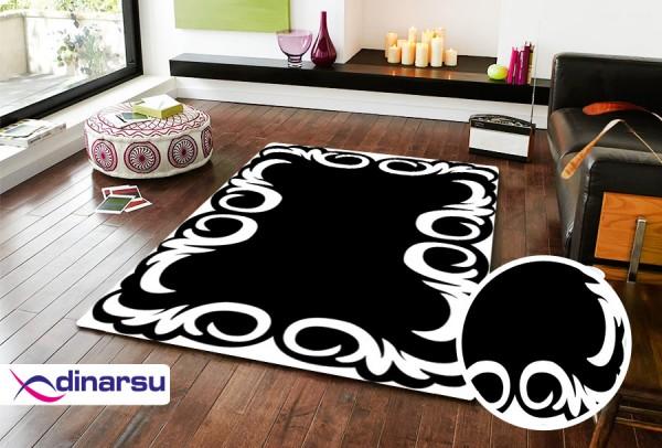 Dinarsu Abwaschbarer Teppich | Sunshine | 1108