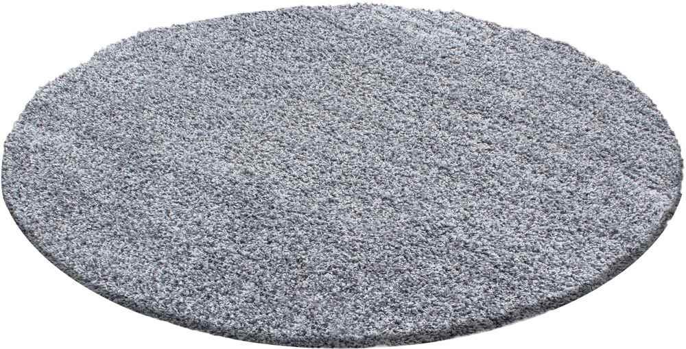 Ayyildiz Teppich Life Shaggy 100/% PP Shaggy 1500 Light Grey 30 mm 2000 gr