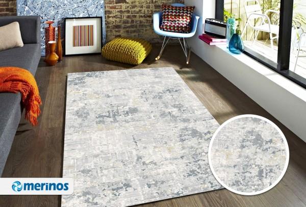 Merinos Sophistic Teppich | Grau/Blau | M-24056-953-Grey-Blue