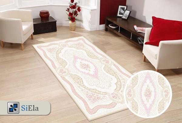 Siela File Road Teppich | Pink