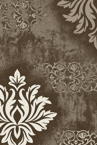 Merinos New Day Teppich | Braun Grau