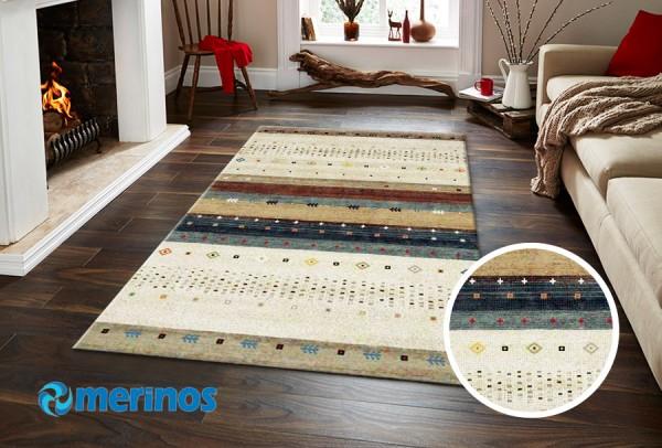 Merinos East Life Teppich | Beige
