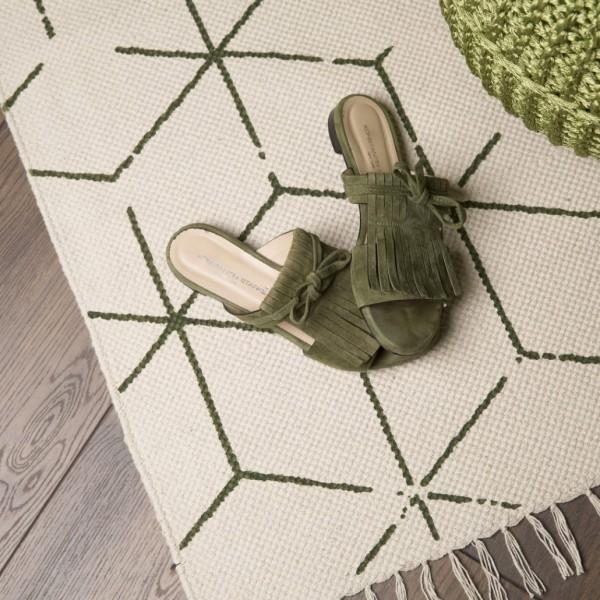 Obsession Know Love Teppiche | Grau Erdfarben Sauerkirsche