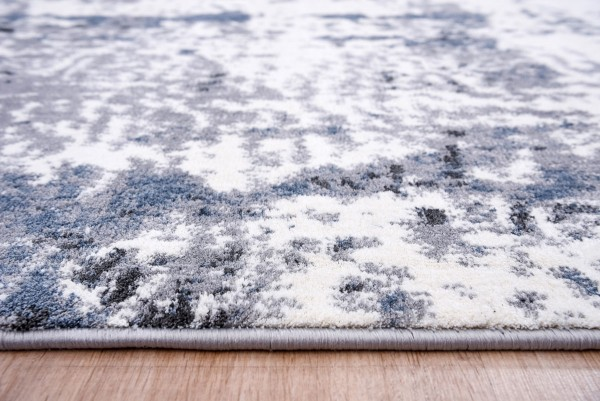 Festival   Diamond   Teppich   Polyester Microfaser   Blau