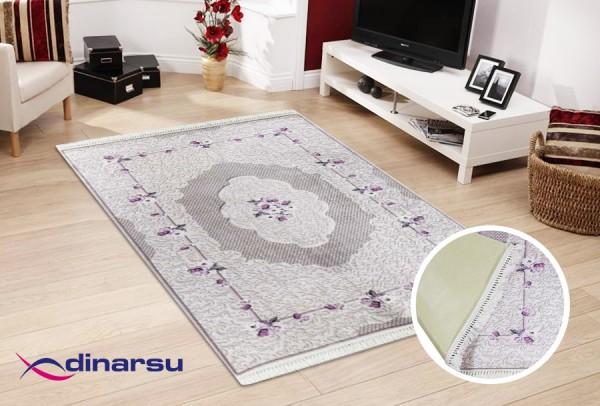 Dinarsu Summer Waschbarer Teppich | Lila
