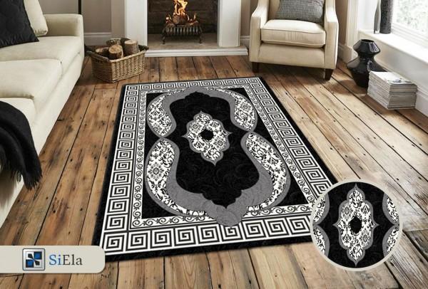 Siela Special Day Teppich | Polypropylen Heatset | Schwarz