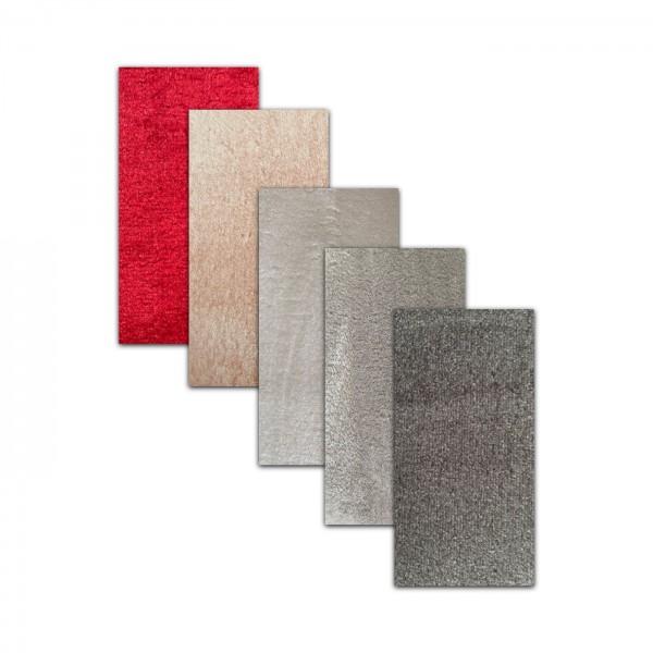 Dinarsu | Exclusive Series | Teppich | Rot & Pink & Creme & Grau & Anthracite