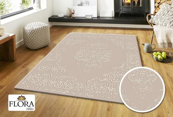 Flora Sun Coll Teppich Polyester | Creme