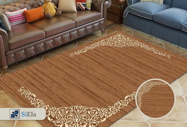 Siela | Bemol Collection Teppich | Braun | %100 Polypropylen Heatset | S-2445-2712