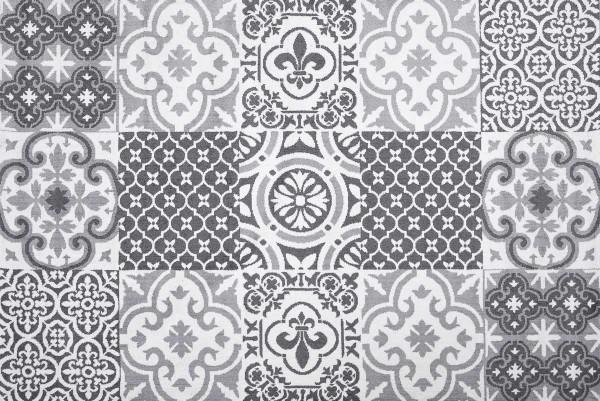 Festival | Diamond | Teppich | Polyester Microfaser | Grau