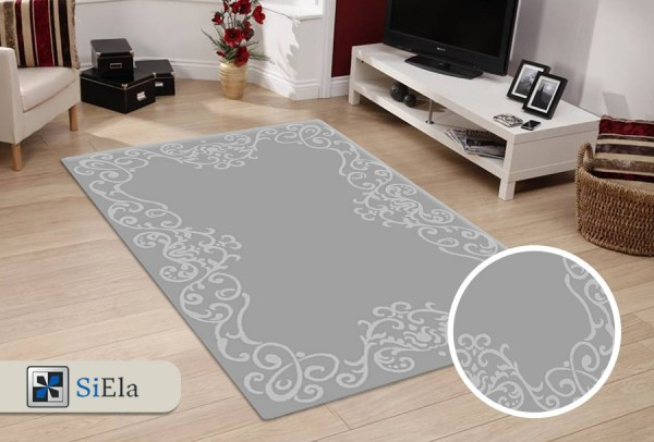 Siela Gala Nova Teppich | Grau