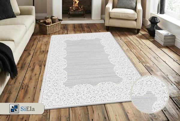 Siela Shiny Sound Teppich | Grau