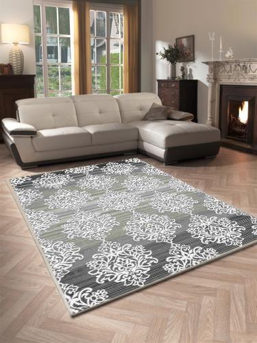 Dinarsu | Tivoli | Teppich | Classic-Design | %100 Heatset | Grau | D-22808-95