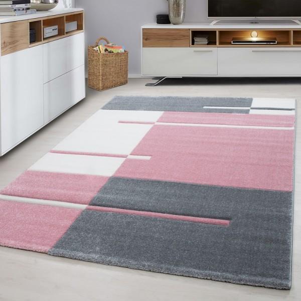 Ayyildiz Mediterranean Teppich | Grau Pink