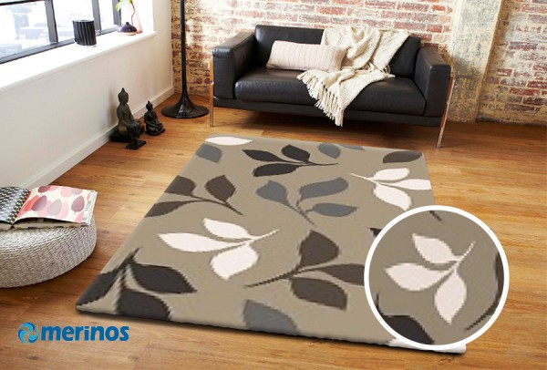 Merinos | Casa | Teppich | 18 mm | 3.2 kg | 100% Merilon Frisee | M-Casa85