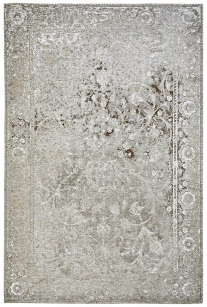 Obsession My Rome Collection Teppich braun Polyester Chenille | Grün Silber Taupe
