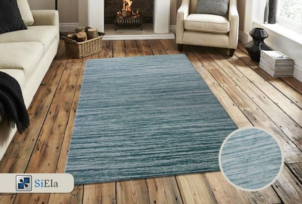 Siela Shiny Sound Teppich | Türkis