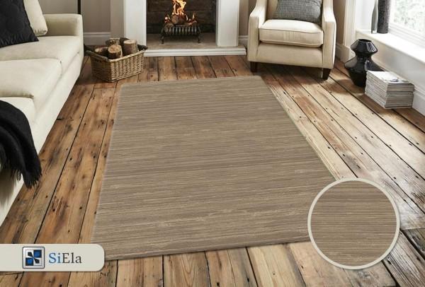 Siela Daisy Home Teppich | Grau Vizon
